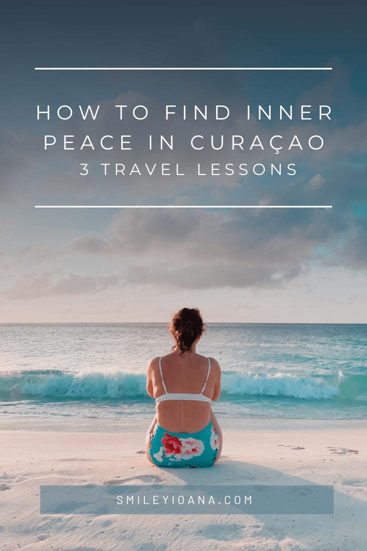 smileyioana.com | 3 Travel Lessons from Curaçao - Beach & Waves