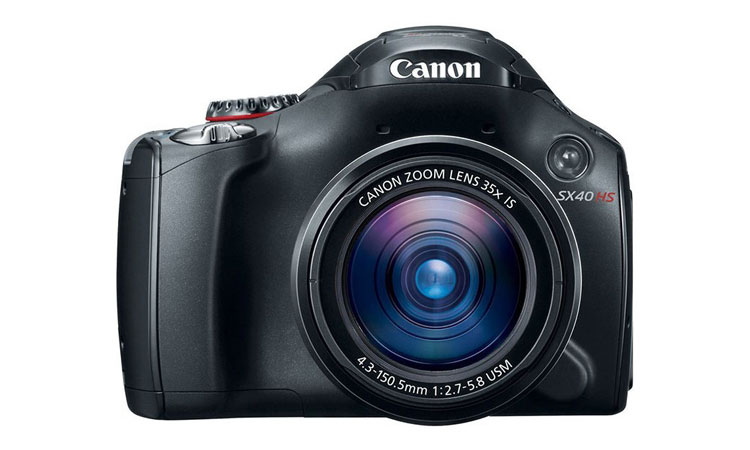 Canon SX40 HS 12.1MP Digital Camera with 35x Wide Angle Optical