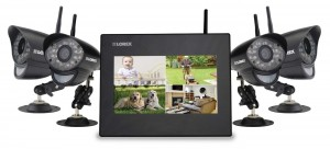 Lorex Wireless Video Monitoring System with 4 Cameras