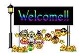 Welcome Smileys  (6/6)