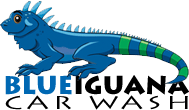 Smiley Ridesharing: St. Louis Uber Car Wash, Night of the Blue Iguana