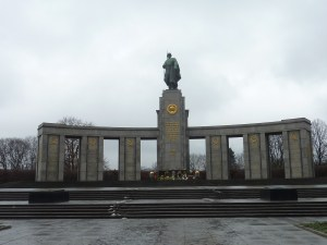 Mémorial pour les soldats soviétiques