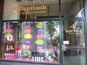 Boutique de Killepitsch, une spécialité de Düsseldorf (liqueur de plantes)
