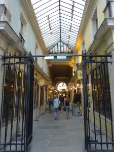 Passages parisiens