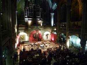 A l'intérieur du temple St Etienne