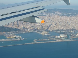 Arrivée à Barcelone !