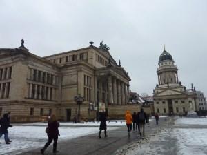 La Konzerthaus et l'église française