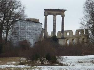 Les ruines antiques (en rénovation !)
