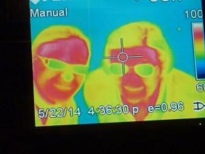 Que calor ! (et sinon, ça se vérifie que j'ai toujours les mains froides et GM les mains chaudes...)