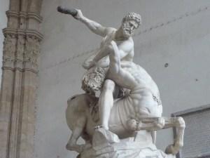 Hercule tuant le Centaure