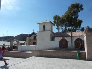 L'église de Putre