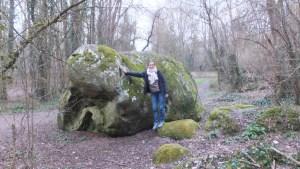 A quoi vous fait penser la forme de ce rocher ?