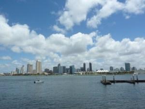 La skyline de San Diego !