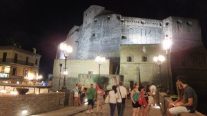 Castel dell'Ovo by night