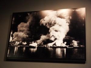 L'incendie de Bodo fait suite à un bombardement, le 27 mai 1940