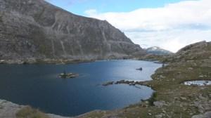 Juste à côté, le lac Fourcat