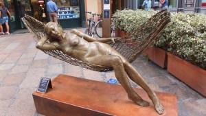 Coup de cœur pour cette statue de Leonardo Lucchi