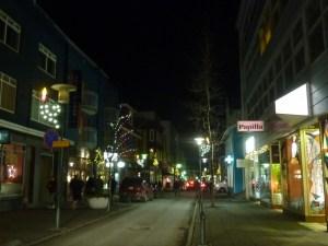 Dans les rues de Reykjavik