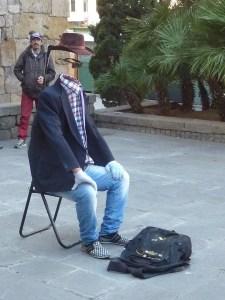 J'ai rencontré l'homme invisible !!