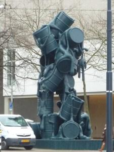 Sculpture dans le centre