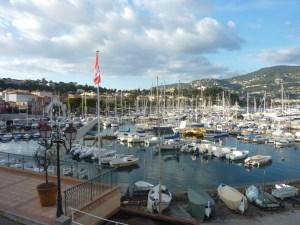 Le port de St Jean Cap Ferrat