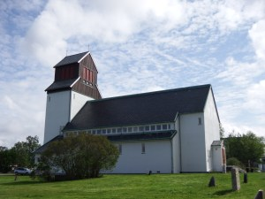 L'église de Kirkenes...