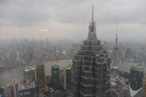 Vue depuis le 87è étage du Park Hyatt, de jour...