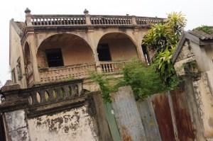 Maison ancienne dans le centre de Kanchanaburi
