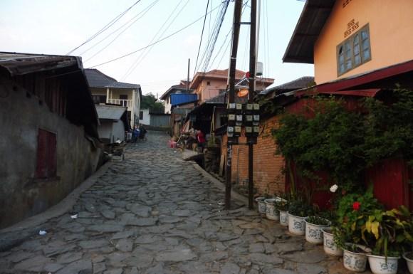 La vieille ville et ses ruelles pavées
