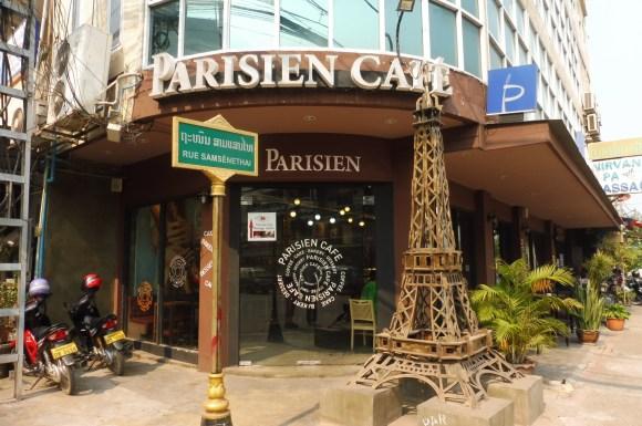 Vientiane, comme un air de Paris...