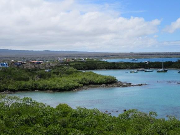Chouette point de vue au bout du sentier de Las Grietas
