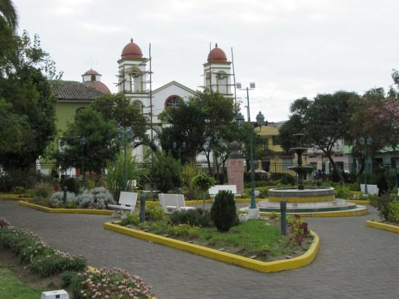 Place centrale de Sigchos