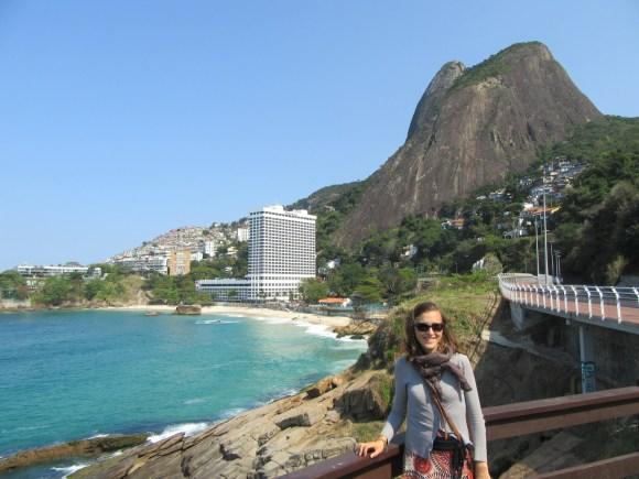 Au pied de notre favela, le Sheraton. Snif.