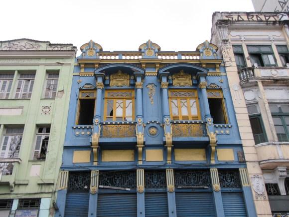 Les jolies façades de Lapa