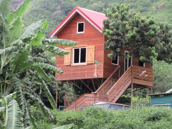 Une maison bien sympa en chemin