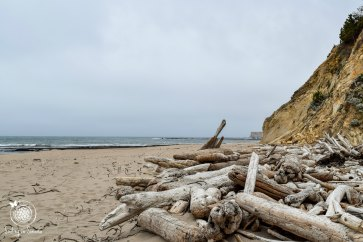 View once you get down off the trail (don't take the driftwood, it's there for looks only!