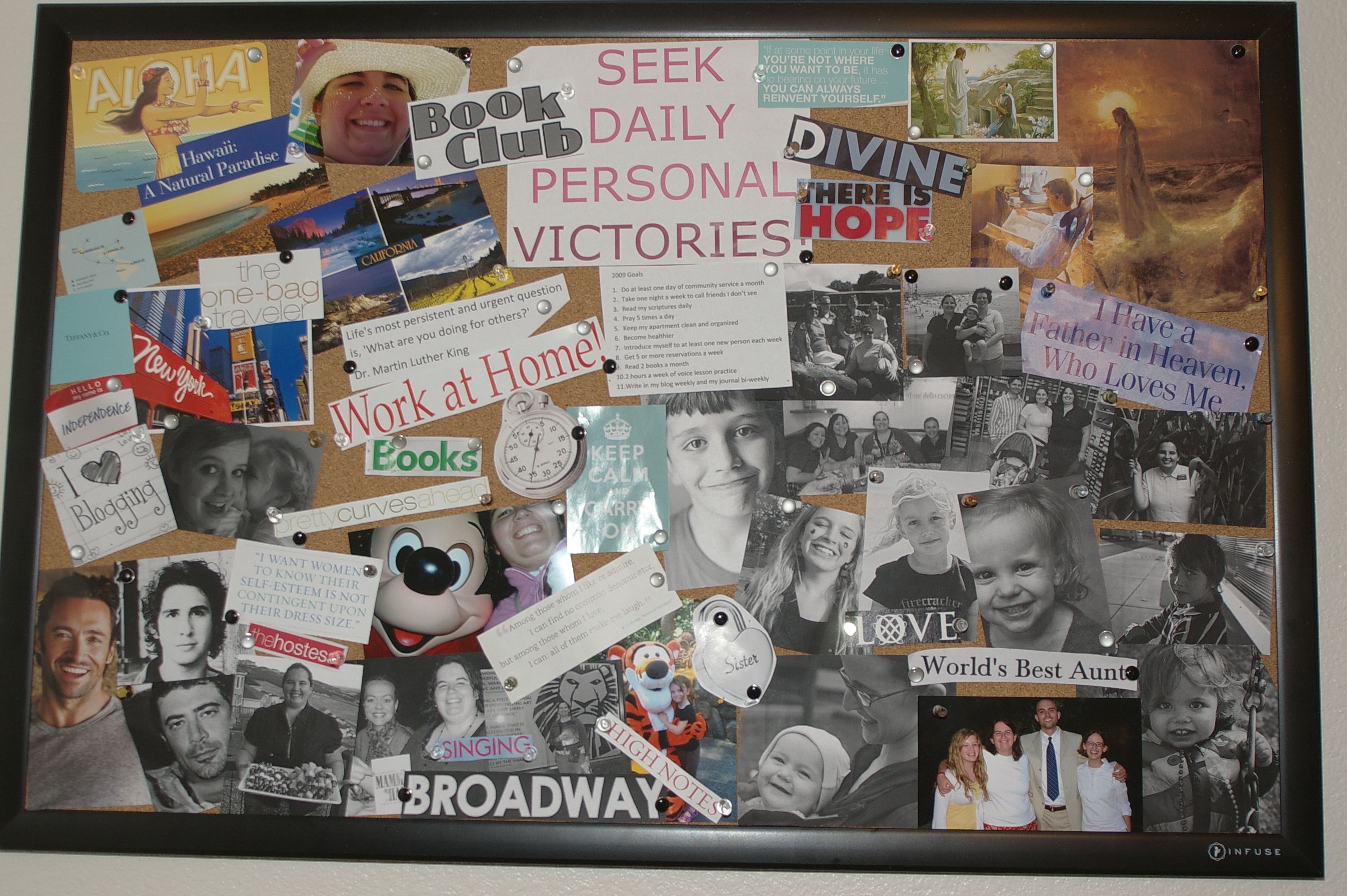 This is the personal board.