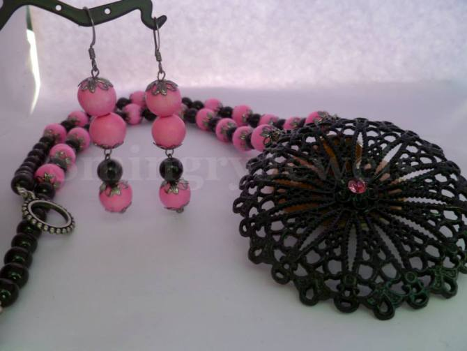 PF-EC-07 necklace set