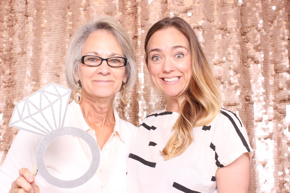 a&be bridal pdx photobooth