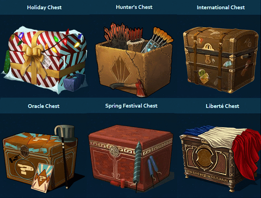 Legacy Chests