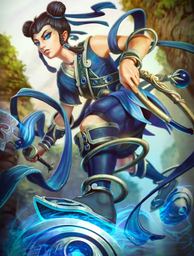 Blue Lotus Ne Zha