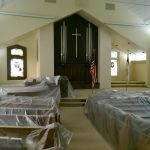 Painting a McMinnville church