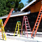 Ladder safety for painters