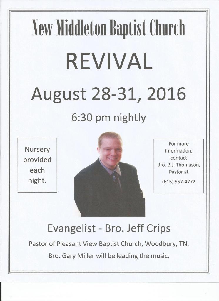 RevivalFlyer
