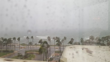 Irma's arrival, Thursday, Sept 7th - JB