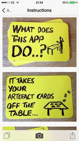 Artefact App