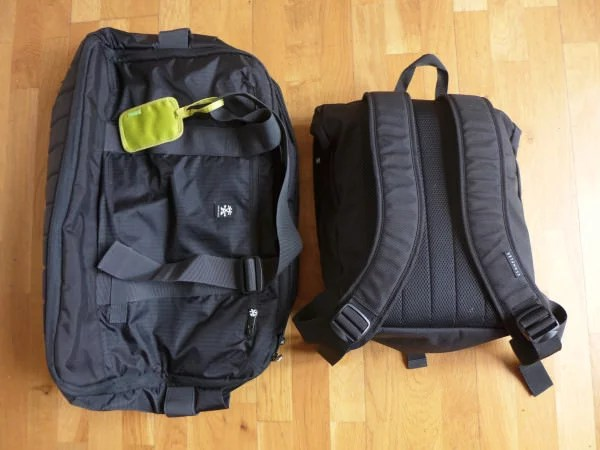 5 - Rucksack and holdall