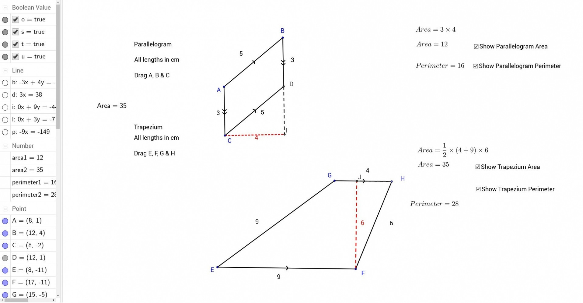 30 Area Of Parallelogram Worksheet