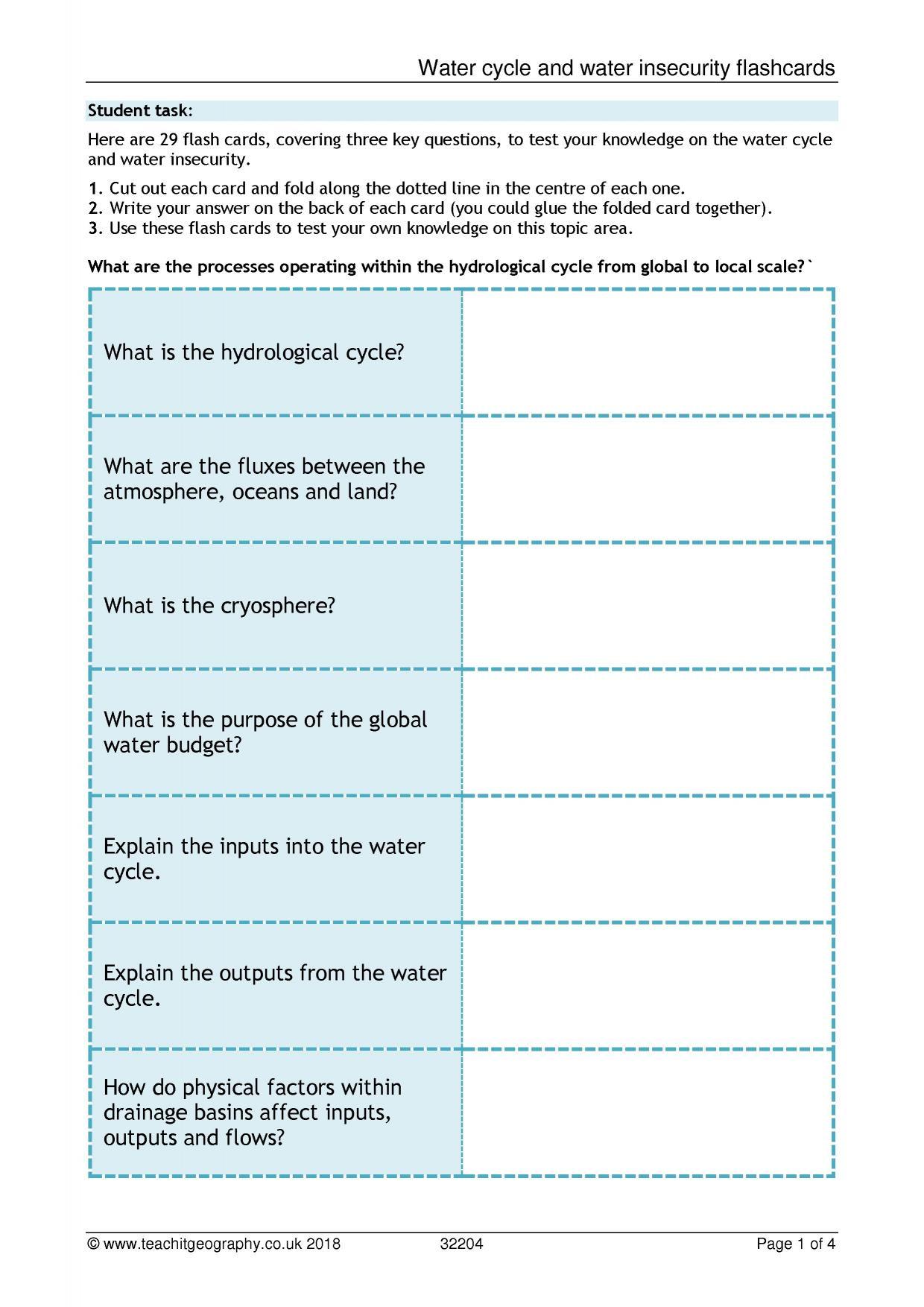 30 Bill Nye Water Cycle Worksheet