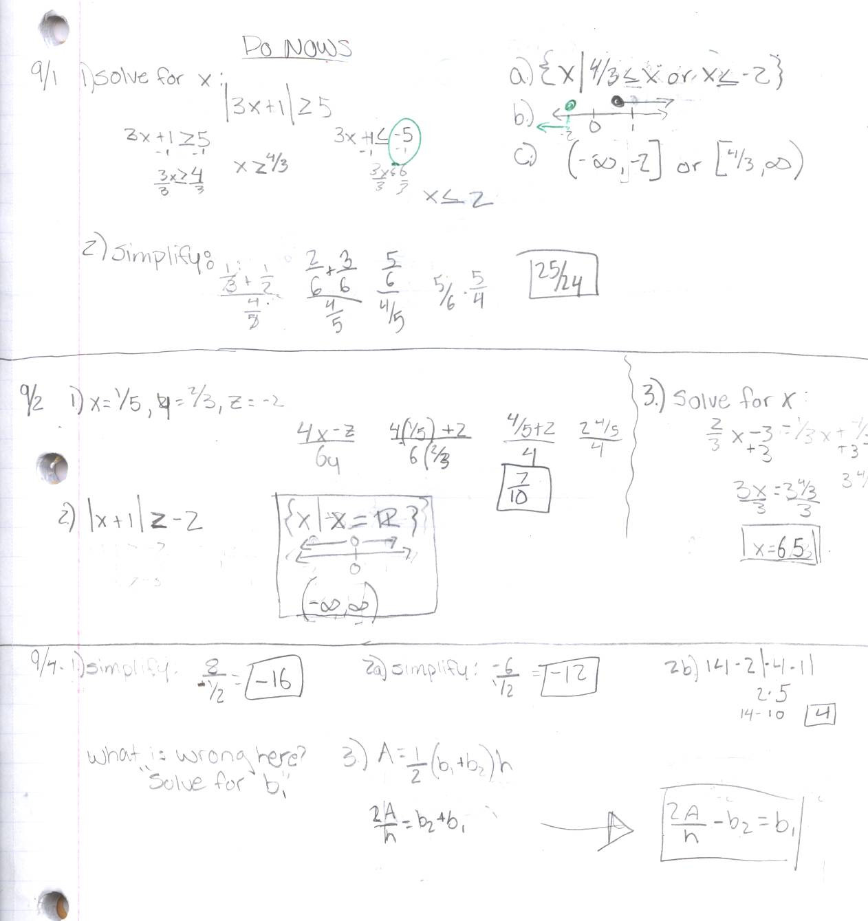 30 Compound Inequalities Worksheet Answers